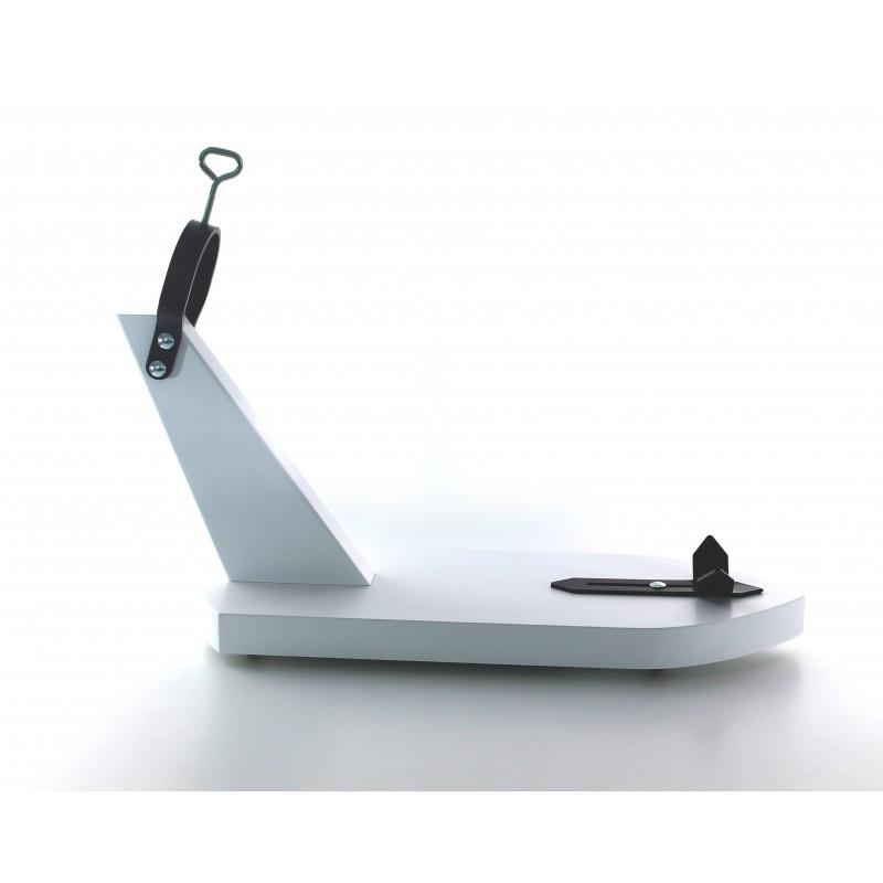 soporte jamonero modelo basico blanco FLRC 4